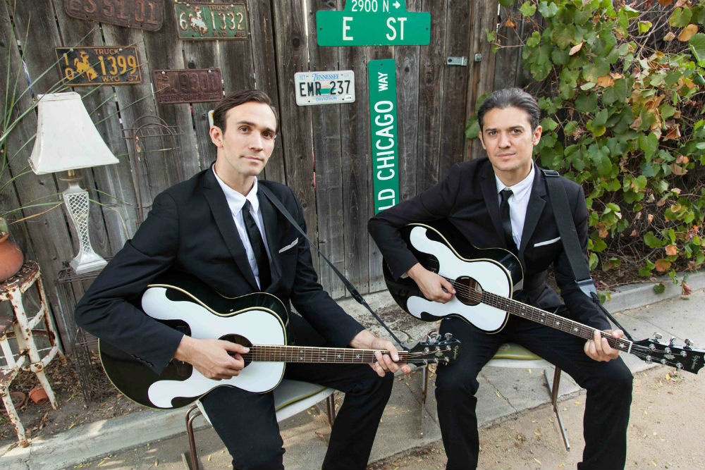 Slovenian sponsors The Everly Brothers Experience at the Arcadia Theater